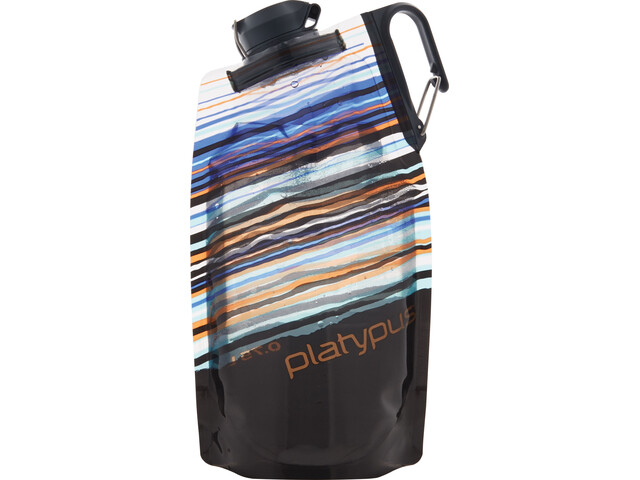 Platypus DuoLock Botella Blanda 750ml, orange skyline